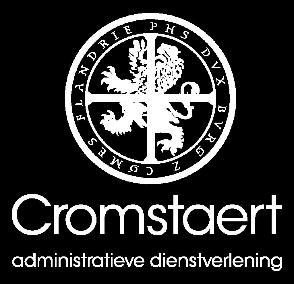 Logo Cromstaert wit